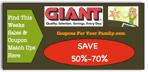 Giant Coupon Matchups April 20 - 26: Free Organic Baby Food, Yoplait Greek Yogurt, $.50 Suave Shampoo and more : #Giant, #GroceryStores, #Stores Check it out here!!
