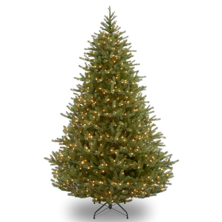 9 ft. Noble Fir Tree with Clear Lights