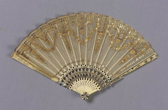 Small fan  French, about 1800
