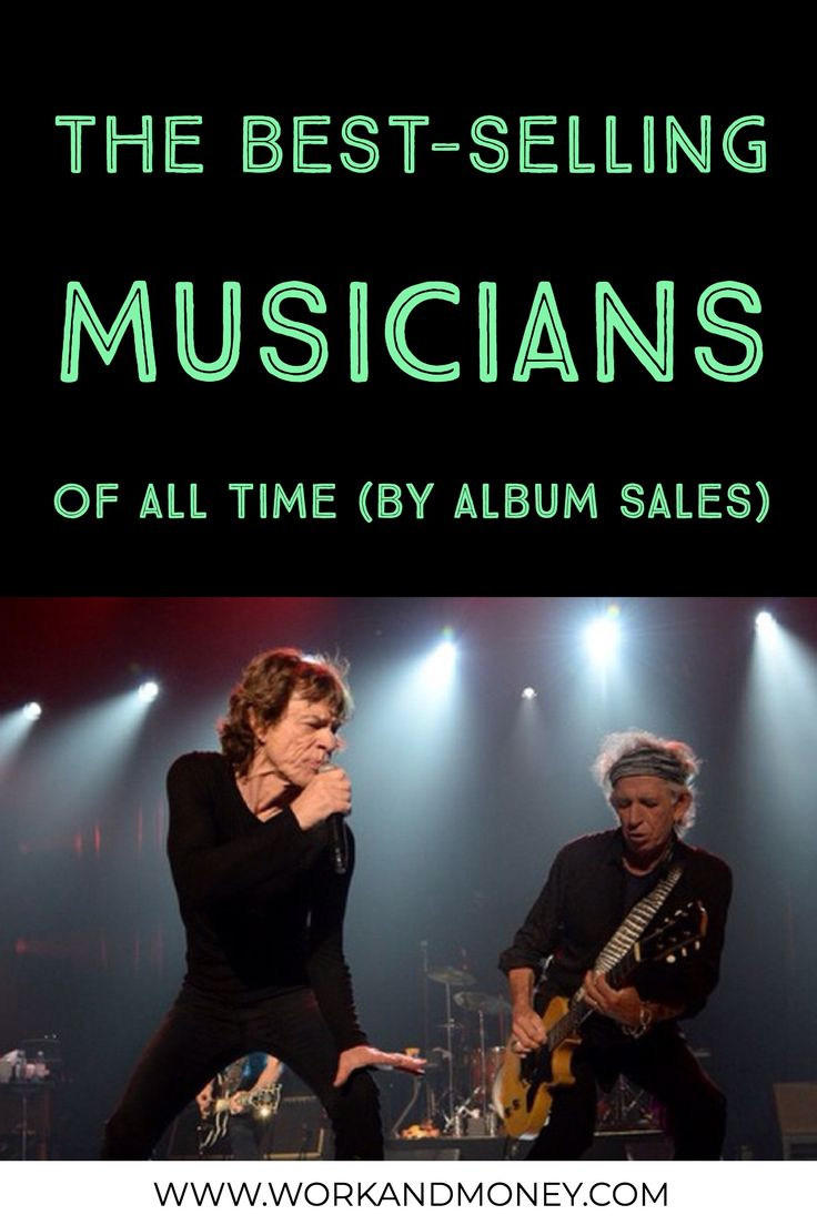 Who are the best-selling musicians of all time, by album sales?