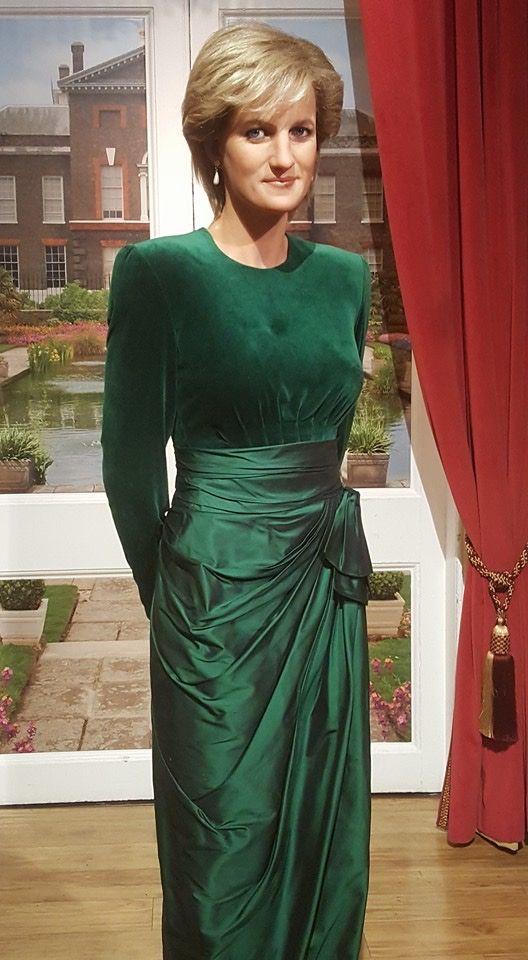 Princess Diana (waxwork at Madame Tussaud's London)
