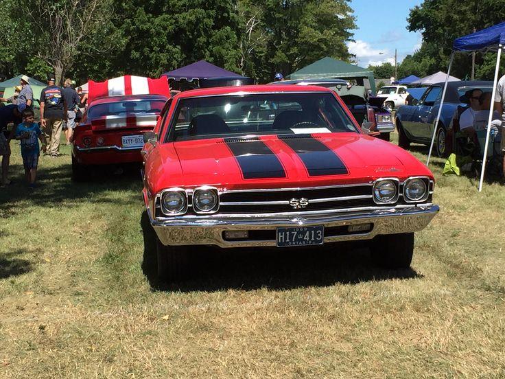 1969 Chevelle @ Bothwell Ontario Car Show Aug. 2016