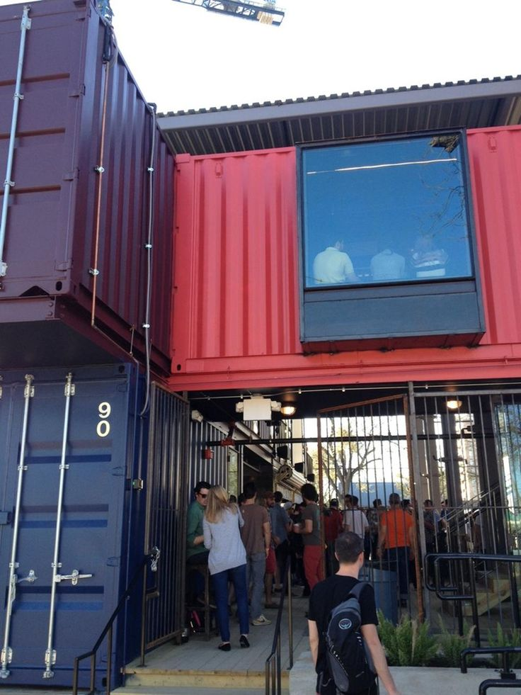 17 best images about container cafe on pinterest container restaurant shipping container - Container homes austin ...