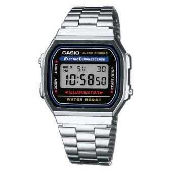 Compra Reloj Casio Vintage A168 - Plata - con envío a todo México | No hagas filas, paga al recibir sólo en Linio | ¡Entra ya!