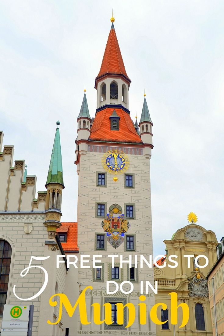 5 Free Things to do in Munich with Kids