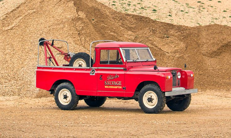 1966 Land Rover Recovery Truck