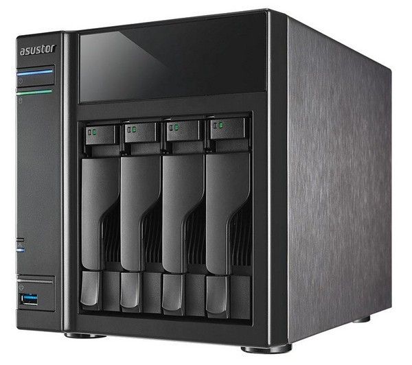 """ASUSTOR AS-304T - NAS - 4 bay   2 Caviar Red Internal Hard Drive WD30EFRX 3.5"""" - 3 TB 