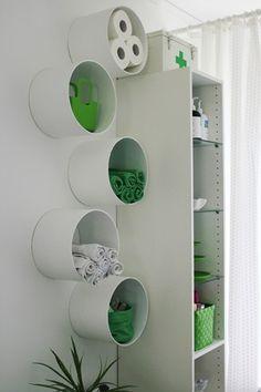 o que fazer com…. canos de pvc | Emme Interiores