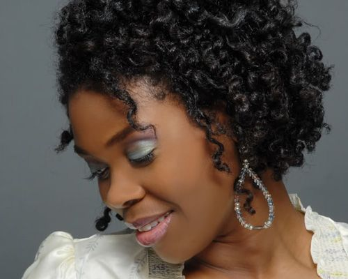 Style Black Curly Hair: 17 Best Images About Hair Styles On Pinterest