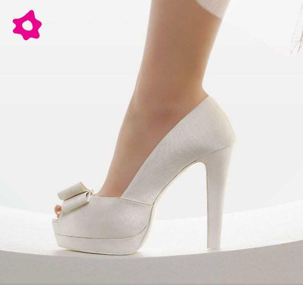 scarpe sposa con tacco altissimo