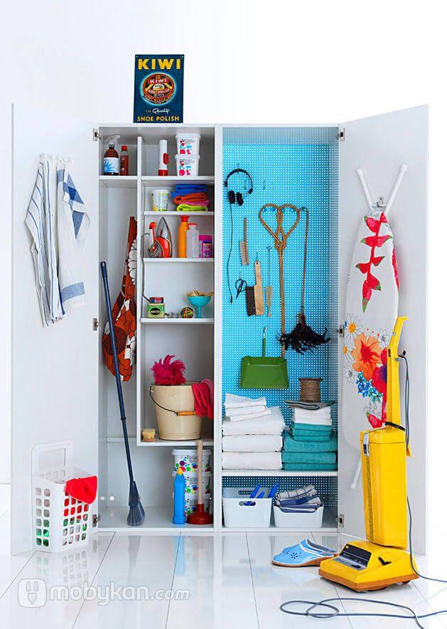 دواليب ادوات التنظيف و طريق اختيارها و اشكالها من موبيكان Closet