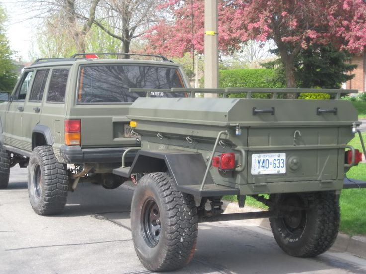 jeep xj trail trailer - Google Search