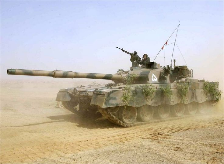 Pakistani main battle tank Al Khalid