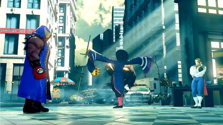 Street Fighter 5 Shadaloo; Vega, Fang, Balrog