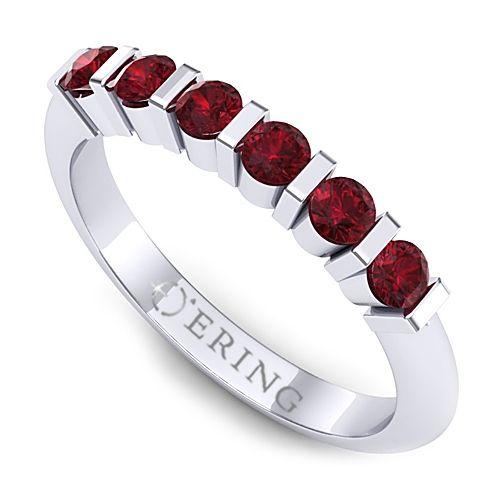 Inel logodna L107ARB inel cu rubin