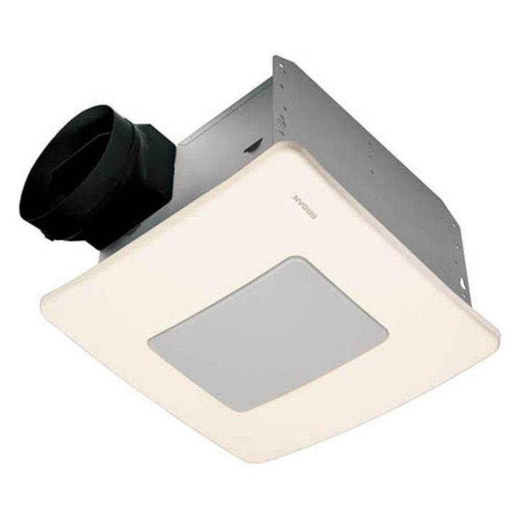Broan-Nutone QTXE110FLT Ultra Silent Bathroom Fan / Light / Night-Light - ENERGY STAR - QTXE110FLT