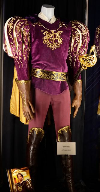 Prince Edward Costume from Enchanted                Worn by James Marsden, Taken at the D23 preview of Treasures of the Walt Disney Archives exhibit at the Ronald Reagan Library in Simi Valley, California.