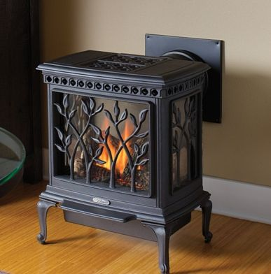 Back Vent Gas Stove Franklin Stoves Pinterest Stove