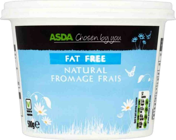 Fat free natural fromage frais is free on Slimming World ...