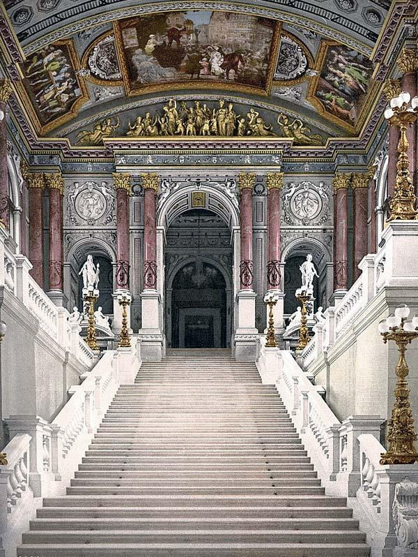 The Opera House, interior, Vienna, Austro-Hungary600 x 798 | 148.3KB | www.old-picture.com
