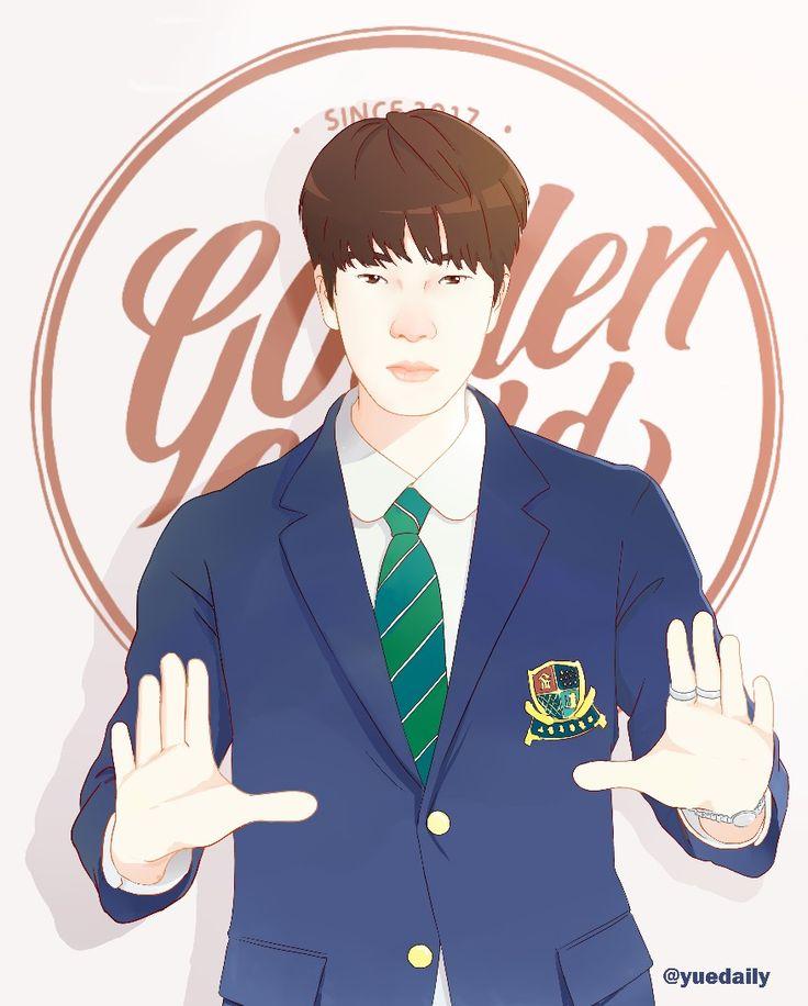 Golden child fanart Lee Daeyeol golden movie