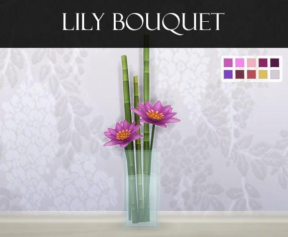 Summer Bouquet I Merged I by Omorfi-Mera via tumblr I Sims 4 I TS4 I Maxis Match I MM I CC