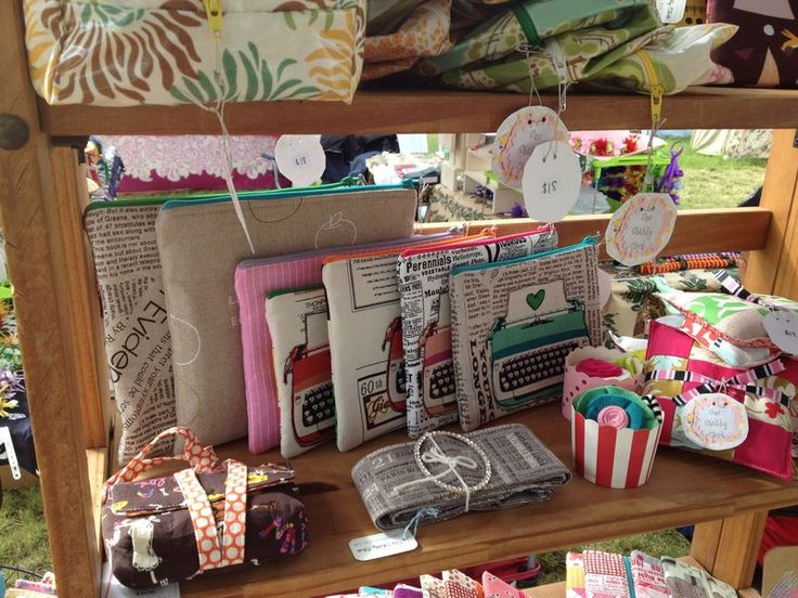 One Shabby Chick craft stall. Plus lots more on the blog post.