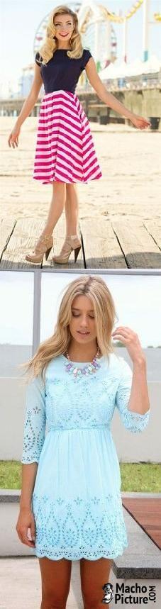 Summer easter dresses for women - 3 PHOTO!