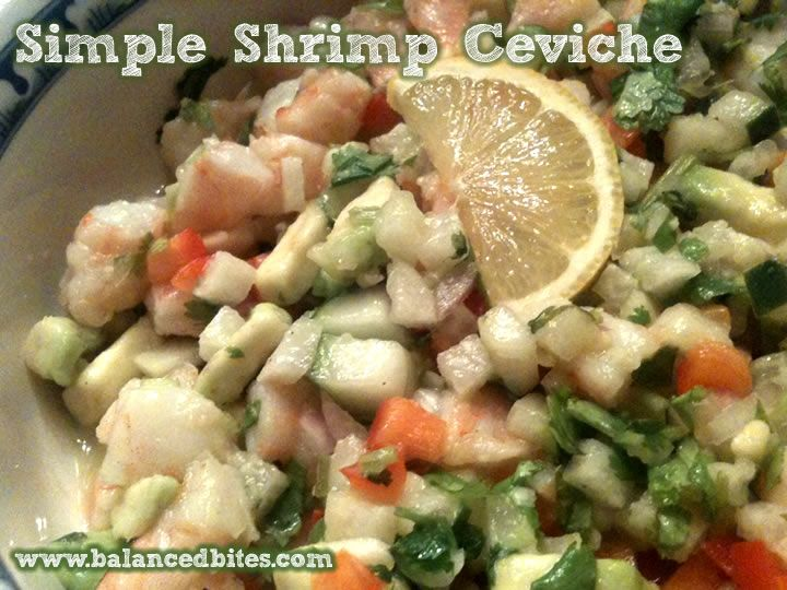Easy Recipe: Simple Shrimp Ceviche & Fresh Fries   Balanced Bites   Holistic & Paleo Nutrition EducationBalance Bites, Simple Shrimp, Paleo Nutrition, Nutrition Education, Easy Recipes, Shrimp Ceviche, Fresh Fries, Balanced Bites, Paleo Recipe
