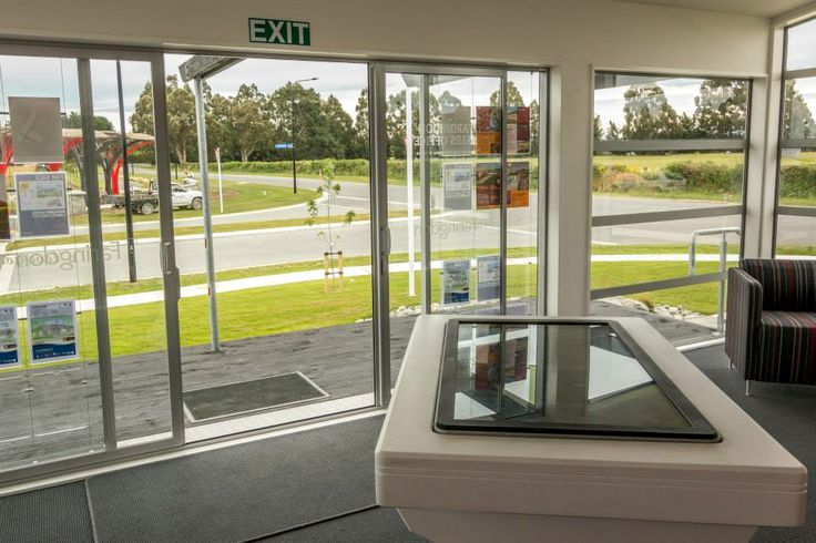 Information centre interior - Faringdon, Rolleston