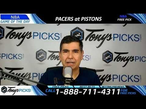 Indiana Pacers vs. Detroit Pistons – Free NBA Basketball Picks and Predi...