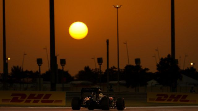Jenson Button during Qualifying for the 2016 Abu Dhabi Grand Prix