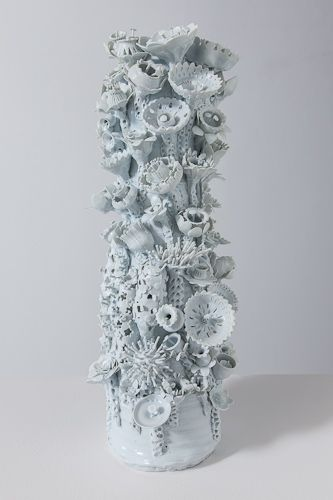 © Ann Agee, 'Lamp Base Sculpture, Flower Style (large) #1', 2012. Image via http://www.locksgallery.com