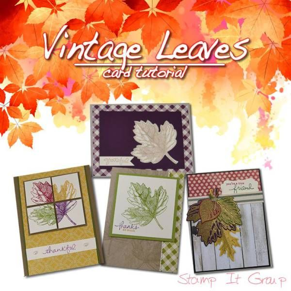 Everything Fall Stampin Friends Blog Hop Leaf Cards Card Making