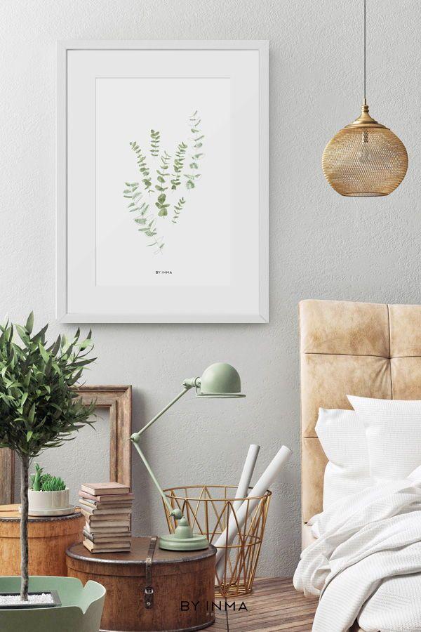 Eucalyptus print - Eucalyptus printable - Botanical print