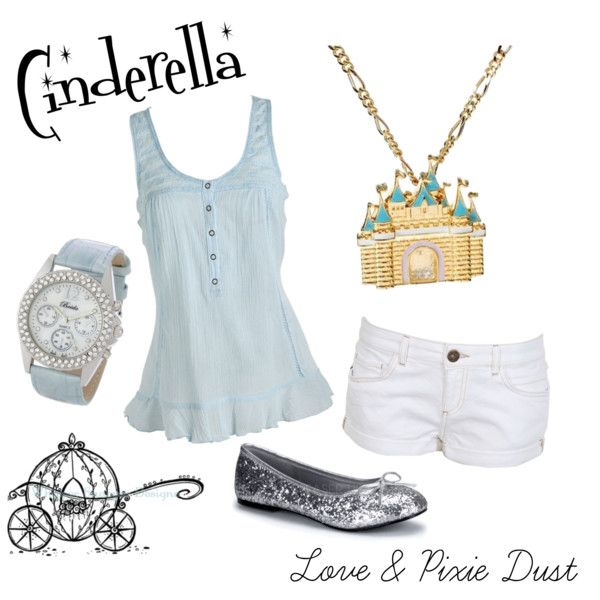 Cinderella, created by loveandpixiedust