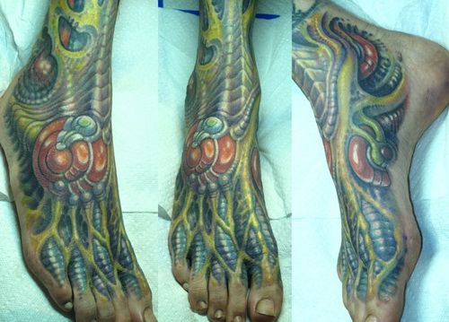 foot tattoo reliever Foot Tattoo Pain Reliever