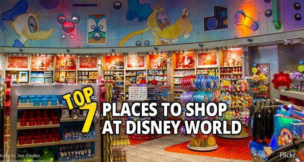 Top 7 Places to Shop at Disney World