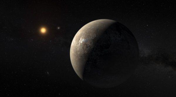 Un al doilea Pământ ar putea orbita în preajma celei mai apropiate stele vecine și, conform noilor simulări, aceasta ar putea fi un loc propice pentru dezvoltarea vieții.   #pamant geaman #proxima b #soare #Terra #viata extraterestra