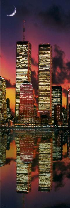 une promenade en haut des tours était assez impressionnant : World Trade Center Twin Towers