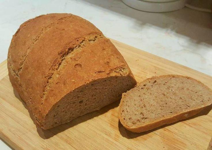Dagasztás nélküli rozsos kenyér