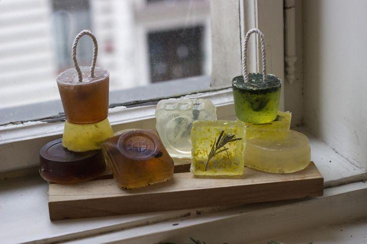 Domáce mydlá
