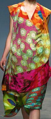 Issey Miyake - mix of #patterns
