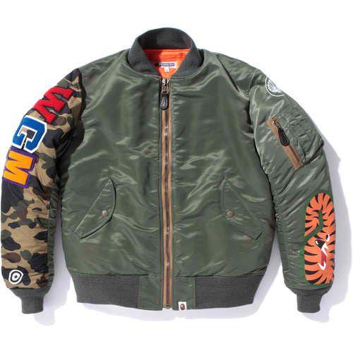BAPE Shark MA-1 Jacket