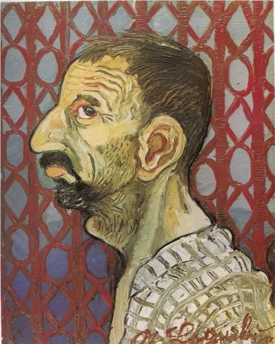 Self-Portrait in profile - Antonio Ligabue, 1942