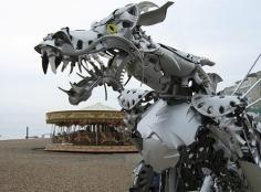 12 Amazing Recycled Dragons