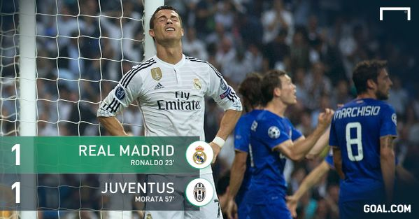 VIDEO: Ronaldo reaction on miss  goal, Real Madrid 1-1 Juventus highlights