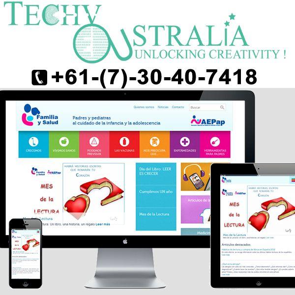 website development Techy Australia +61-(7)-30-40-7418