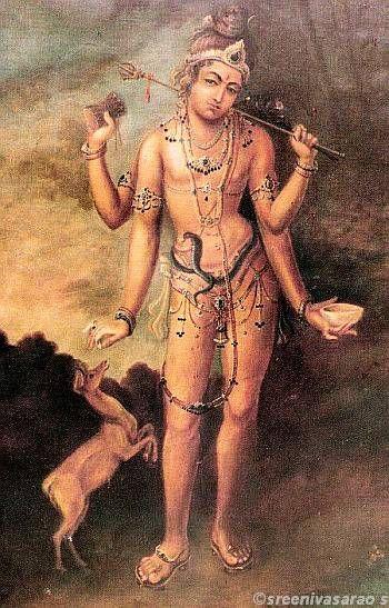 Sri Bhikshatana murthy by Shilpi Sri Siddalingaswamy of Mysore
