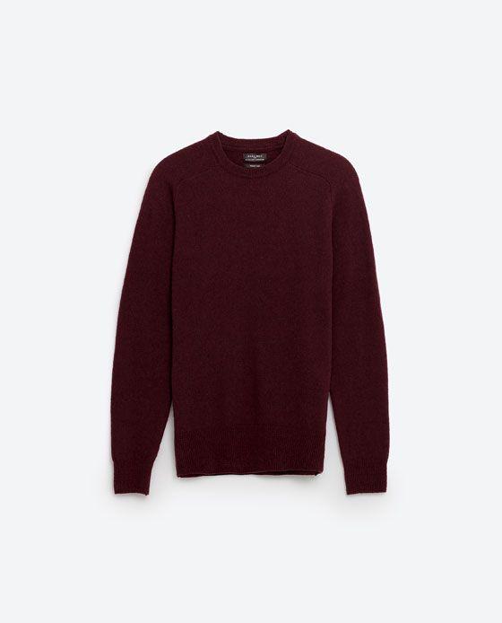 SWEATER I LAMBSWOOL fra Zara, 179 kr
